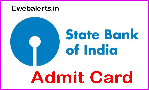 SBI Junior Associate Admit Card