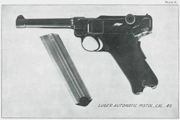 Luger .45 USA Government Model