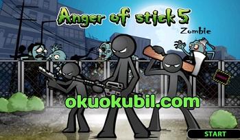 Anger of Stick 5 Zombe v1.1.30 Sınırsız Para Hileli Mod Apk İndir 2020