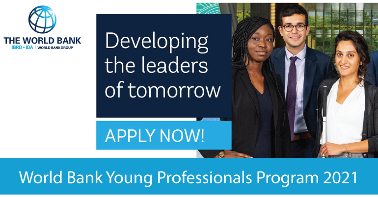 World Bank Fully Funded Young Professionals Program