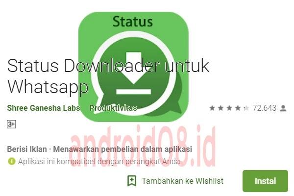 Aplikasi Status Downloader for WhatsApp Premium No Ads Terbaru