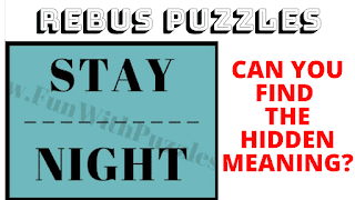 Can you find the hidden meaning in this Rebus Puzzle?