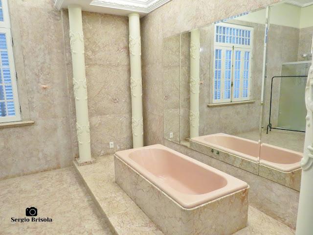Palacete Violeta (Banheiro da Suíte da Noiva)
