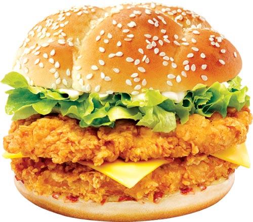 Kfc chicken burger recipe