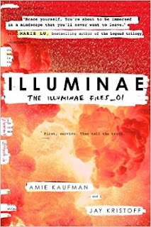 Illuminae by Amie Kaufman and Jay Kristoff book one in the Illuminae files