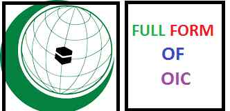 Most Searchable 10 OIC Full Forms