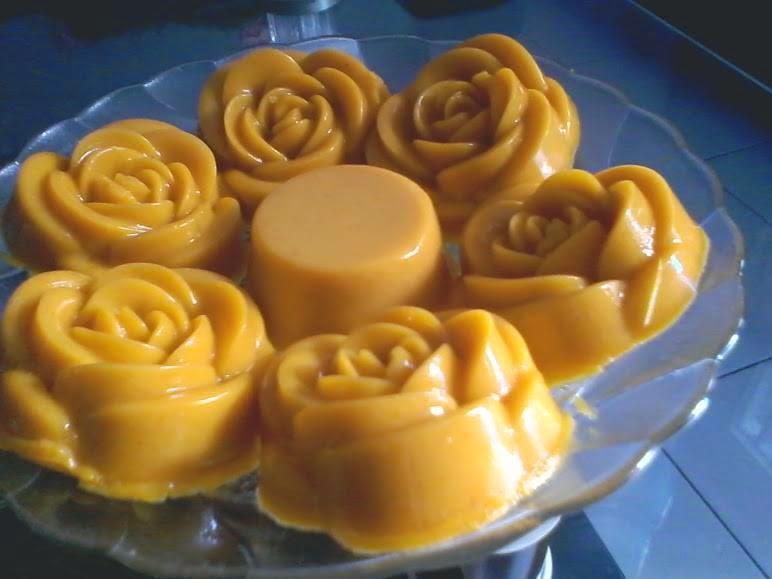 Resep Cake Kukus Labu Kuning Lapis Coklat: Resep Puding Labu Kuning