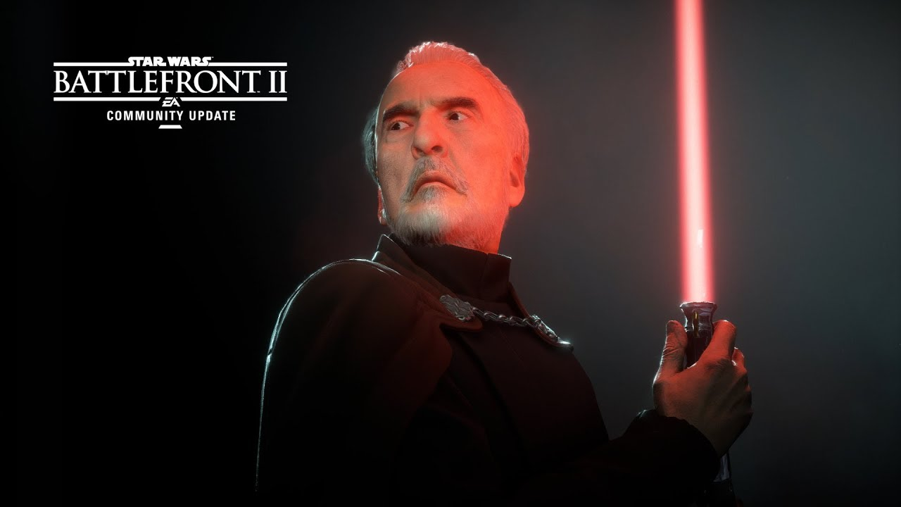 Count Dooku in Star Wars Battlefront 2: best cards and tips
