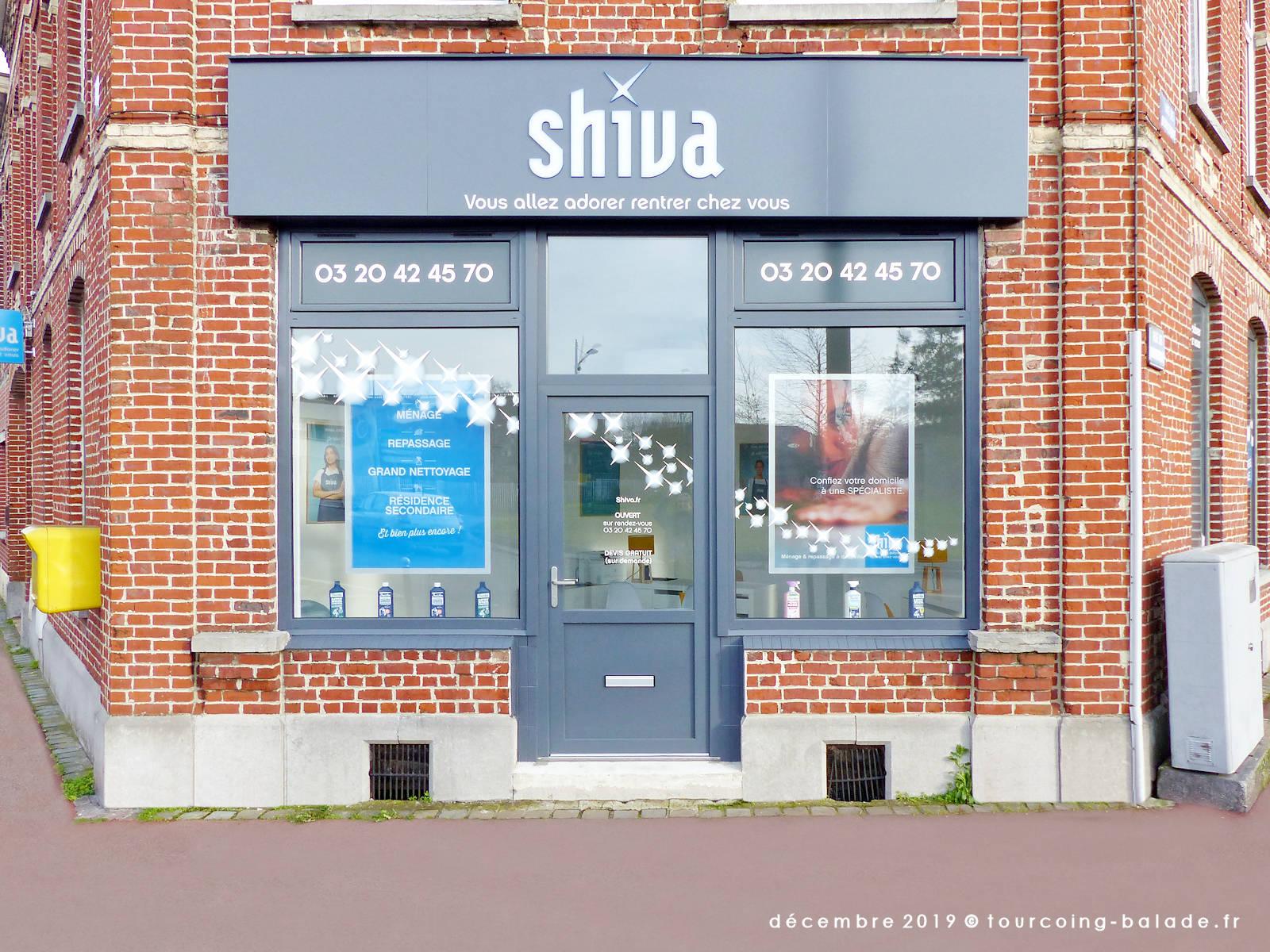 Shiva Tourcoing, vitrine 2019.