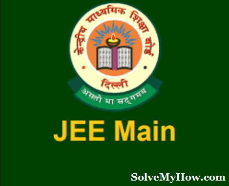 JEE main exams