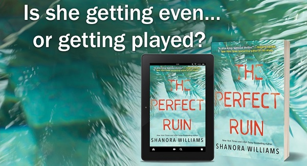 Is she getting even… or getting played? The Perfect Ruin by Shanora Williams.