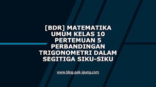 [BDR]Perbandingan Trigonometri dalam Segitiga Siku-siku www.blog-pak-ipung.com