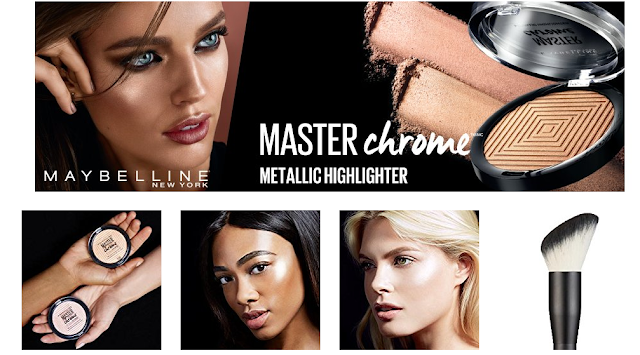 Best Maybelline Master Chrome Metallic Highlighter newyork