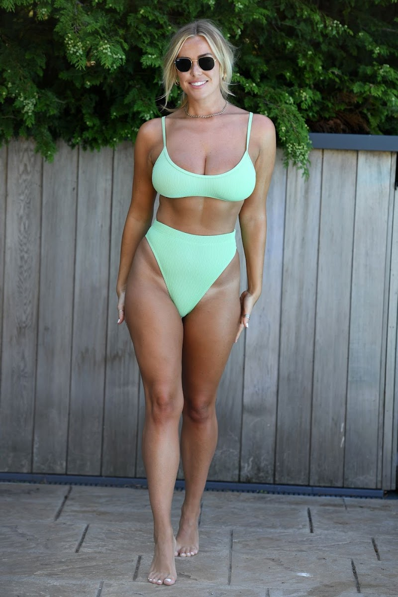 Amber Turner Clicked in Bikini on the Set of TOWIE in Chelmsford 29 Jul -2020