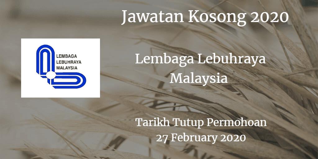 Jawatan Kosong LLM 27 February 2020