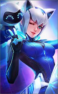 Eudora Vivo Selfie Goddess Heroes Mage of Skins V3