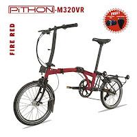 pacific pithon folding bike