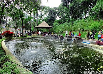 Kolam Ikan Teras Cikapundung BBWS Bandung