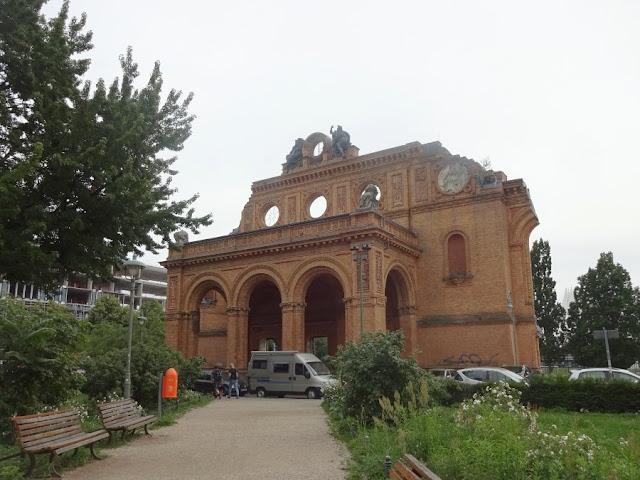 estação de trens Anhalter Bahnhof, Berlim