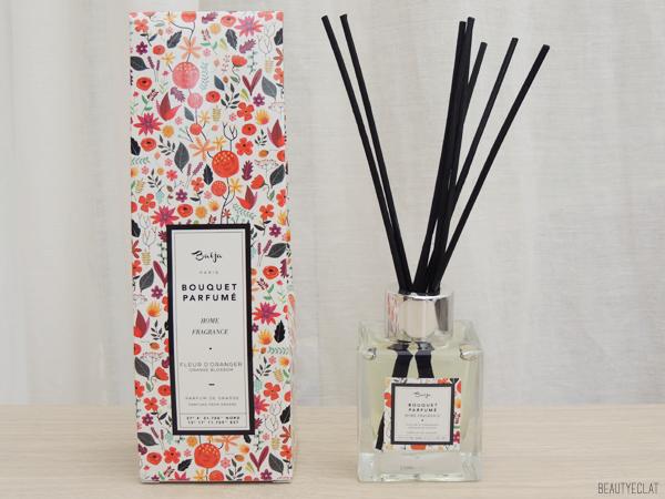 revue avis test baija bouquet parfume creme huile festin royal