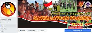 Fanspage Pramukaria