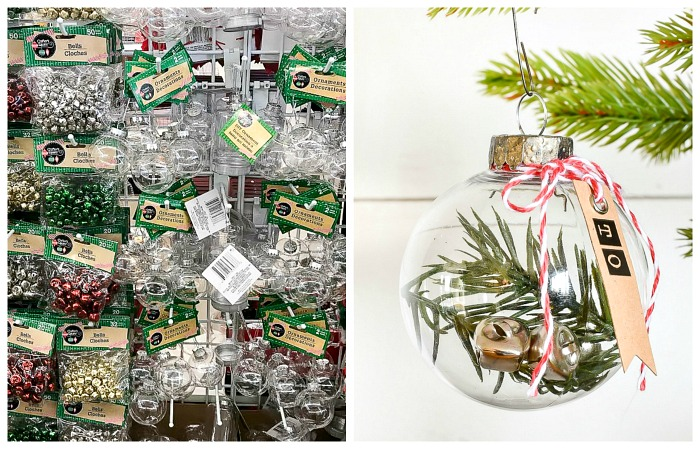 Dollar Tree ornament gift tags