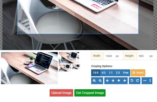 Tool Crop Gambar
