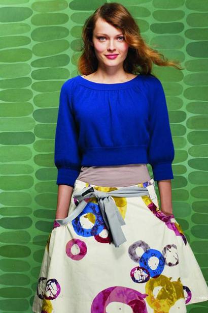 Anthropologie O-Ring Skirt by Fei