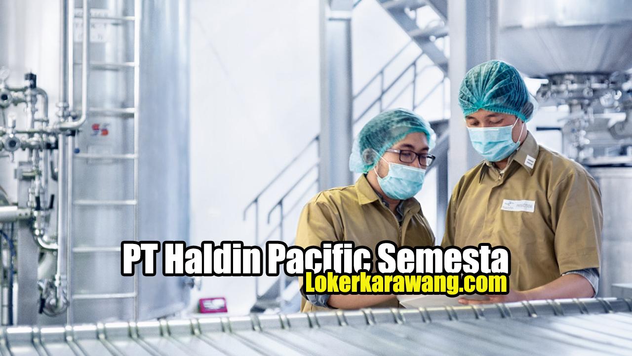 PT Haldin Pacific Semesta
