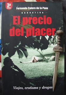 Portada del libro El precio del placer, de Fernando Calero de la Pava