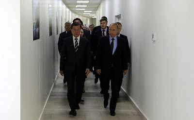 Vladimir Putin held talks with President of the Republic of Korea Moon Jae-in in Vladivostok.