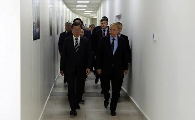 Vladimir Putin held talks with President of the Republic of Korea Moon Jae-in in Vladivostok.