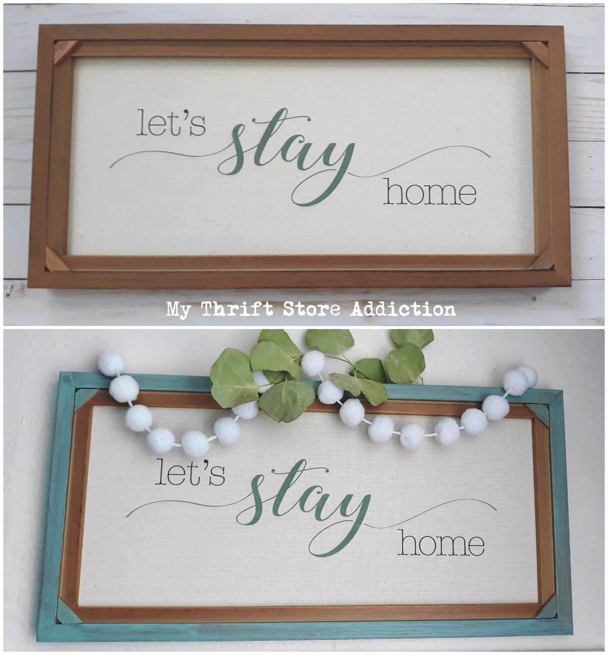 clearance sign upcycle