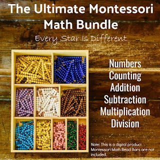The Ultimate Montessori Math Bundle