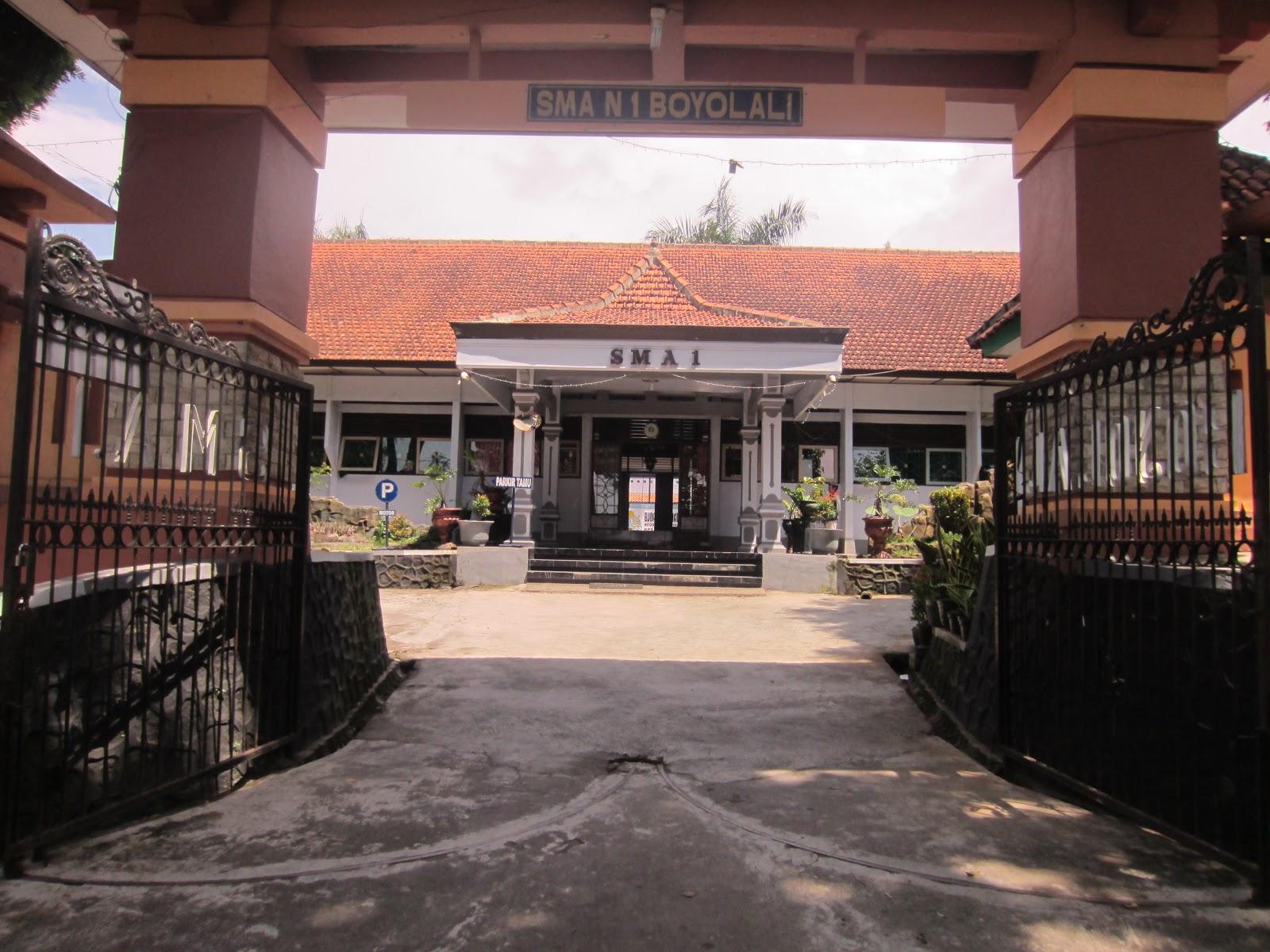 Pembagian Zonasi PPDB SMA Negeri Kab Boyolali