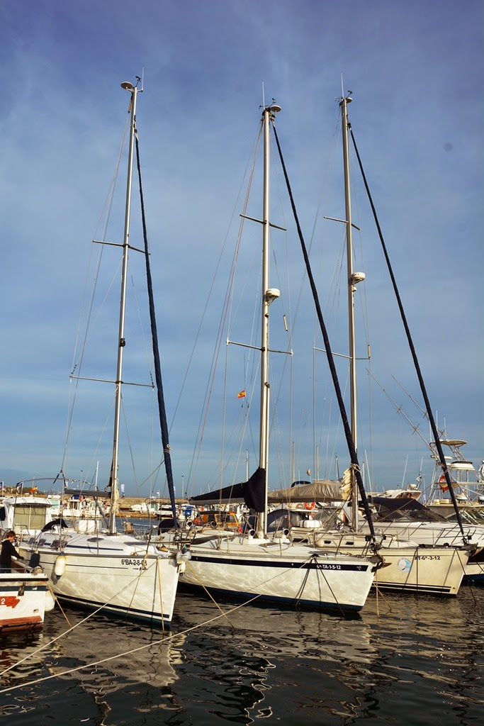 Port of Cambrils sail boat