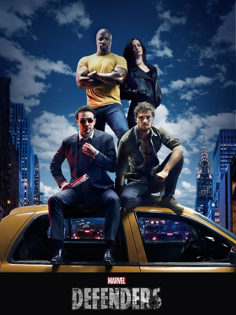 serieS de tv the defenders estreno españa netflix