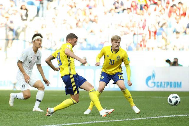 Video Thụy Điển - Hàn Quốc: Penalty định đoạt, cột dọc cứu 3 điểm (World Cup 2018)