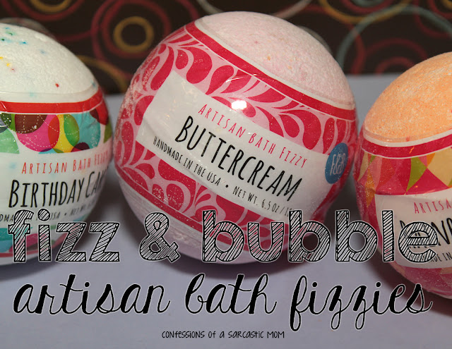 Fizz & Bubble Artisan Bath Fizzies