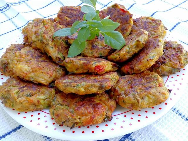 Μπιφτέκια λαχανικών στο φούρνο