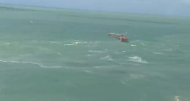 Moradores de Garanhuns se afogam na Praia do Francês em Alagoas.