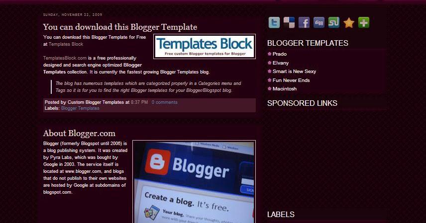 Fashion Press Lite Blogger Template | Easy To Resolve