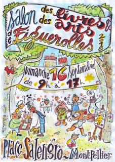 Afiche salon Figuerolle Montpellier