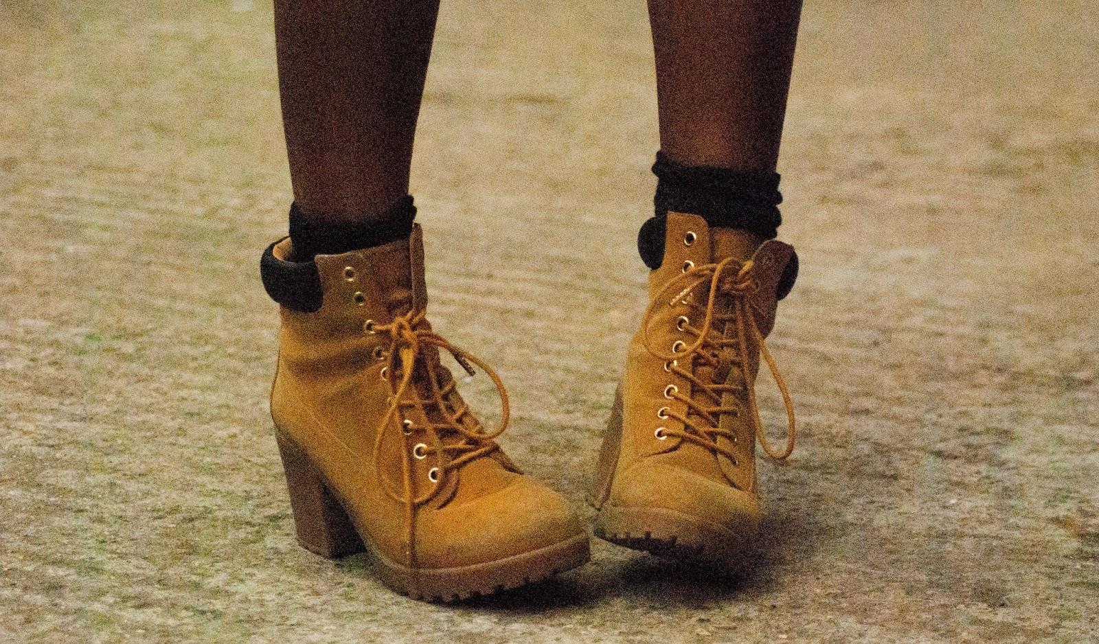 ASOS tan boots