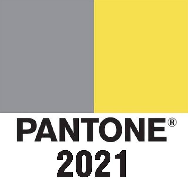 Colore dell'anno di Pantone 2021 -  Illuminating e Ultimate Grey