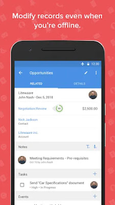 Screenshot Zoho Solutions