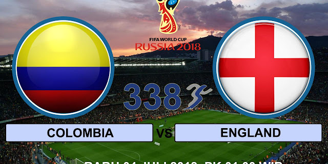 Live Colombia Vs England Piala Dunia 4 Julai 2018
