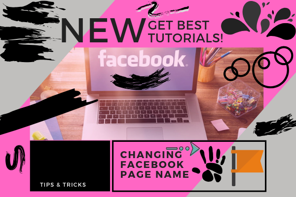 Change Page Name Facebook<br/>