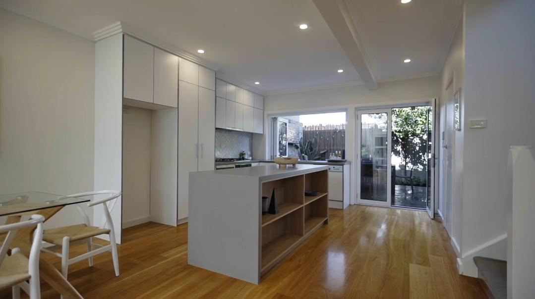 18 Interior Design Photos vs. 142 Heath St, Port Melbourne  Home Tour