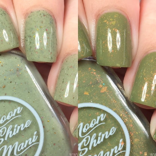Moon Shine Mani Olive Polishes